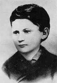 Іван Франко в юності.